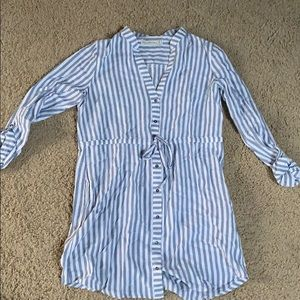 Abercrombie Blue and White Dress
